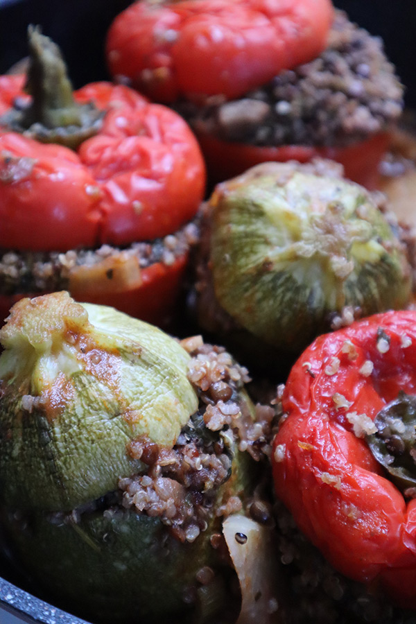 Cooked Stuffed Vegetables