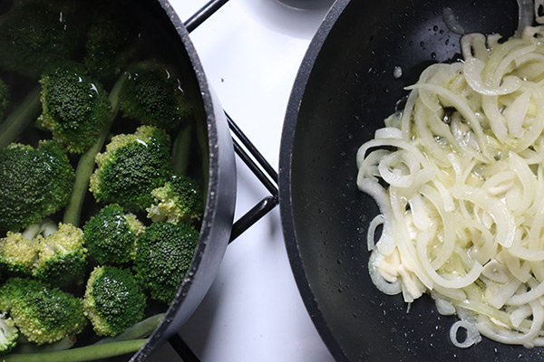 Greens and Onions